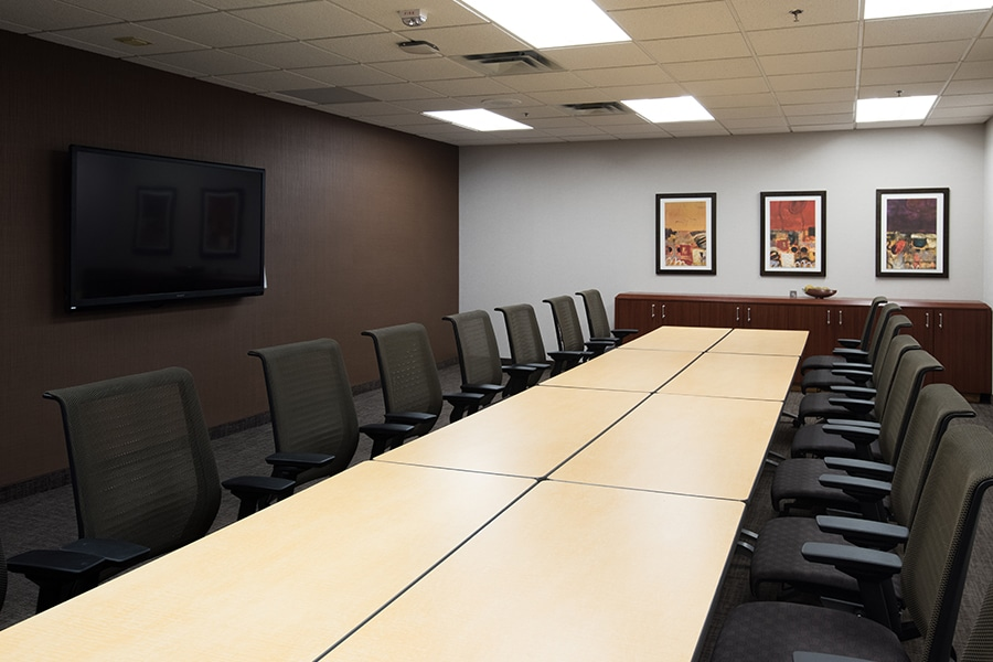 Bell Plaza Conference Room St Paul Layout 2