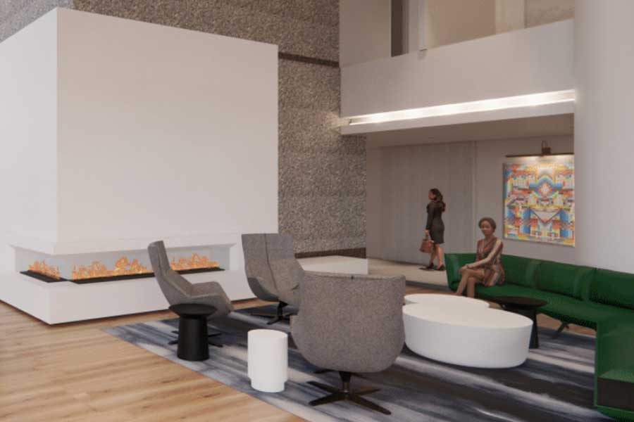 Bell Plaza 2020 Lobby Renovation 2