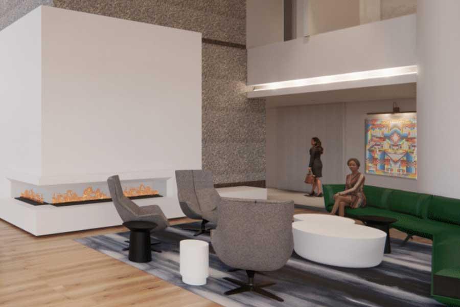 Bell Plaza 2020 Lobby Renovation 2