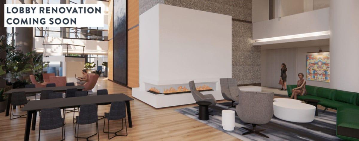 Bell Plaza Lobby Renovation Coming Soon