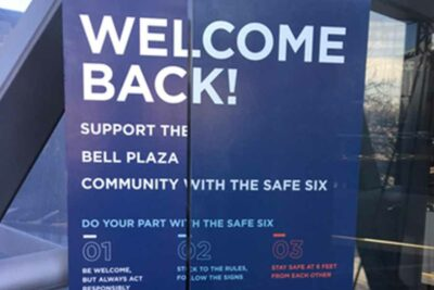Covid 19 Safe Six Bell Plaza